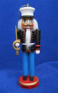 Marine Nutcracker Christmas Ornament Personalized