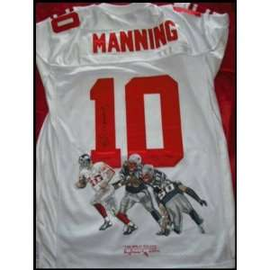 Eli Manning Autographed/Hand Signed Jersey