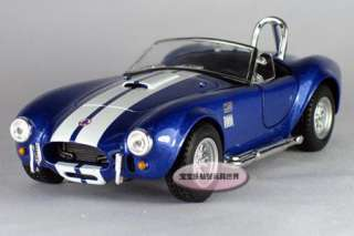 New Ford 1965 Shelby Cobra 132 Alloy Diecast Model Car Blue B276