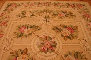 8X10 AUBUSSON FLAT WEAVE RUG  NEW FRENCH STYLE