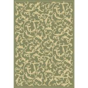 Safavieh Courtyard Collection CY2653 1E06 Olive and