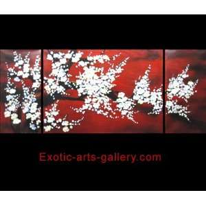Chinese Flower Painting Abstract Art Feng Shui Painting 369