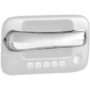 Putco 422007 Razor Style Chrome Trim Door Handles (Center