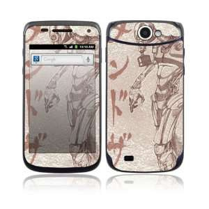 Toxic Birth Decorative Skin Cover Decal Sticker for Samsung Exhibit II