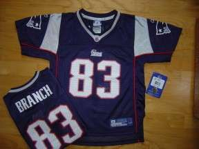 New England Patriots NFL Branch Jersey Youth 5/6 Boys M