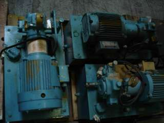 LOT OF 3 RACINE SILENTVANE PSV PNS0 VANE PUMP