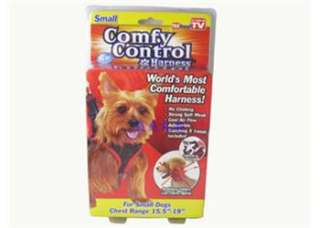 TELEBRANDS COMFY CONTROL DOG HARNESS For Small Dogs