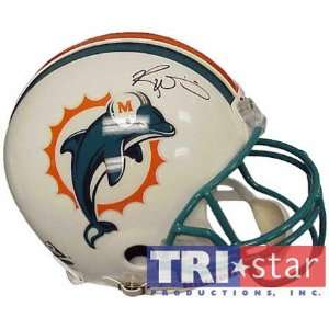 Ricky Williams Miami Dolphins Autographed Helmet Sports