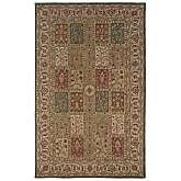 Rizzy Home Jubilee Hand Tufted Red, Beige and Green Rug   2 6 x 8