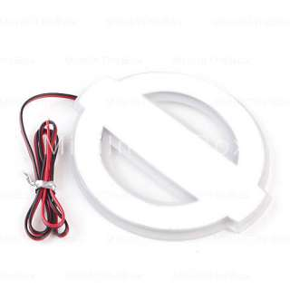 Red Light LED Car Badge Light Stiker Car Decoration for NISSAN TIIDA