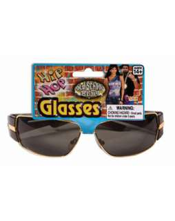 Hip Hop Glasses  80s Accessories & Makeup for Halloween Costumes