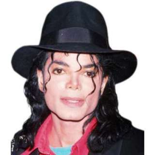 Halloween Costumes Michael Jackson Adult Black Fedora