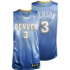 Blue adidas NBA Authentic Denver Nuggets Jersey