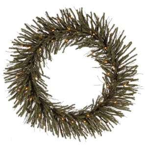 Vienna Twig Artificial Christmas Wreath   Clear Lights