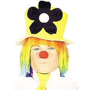 Neon Daisy Clown Hat Toys & Games