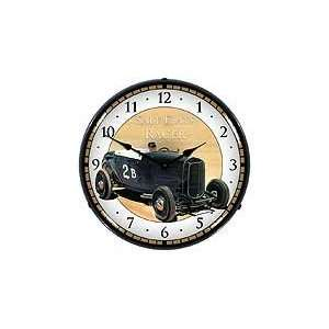 Sign and Clock 712177 14 Salt Flats Racer Lighted Clock Automotive
