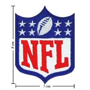 3pcs National Football Leagues NFL Logo III Embroidered