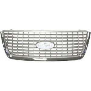 03 06 FORD EXPEDITION GRILLE SUV, Eddie Bauer Model, w/ Chrome Molding