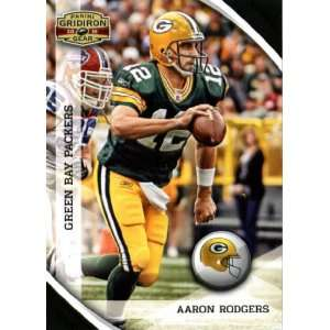 2010 Panini Gridiron Gear #50 Aaron Rodgers   Green Bay Packers