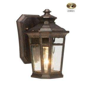 Hampton Bay 1 Light 5 1/2 in. Dark Ridge Bronze Outdoor
