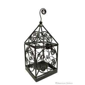 Birdcage 12 Wrought Iron Indoor / Outdoor Lantern