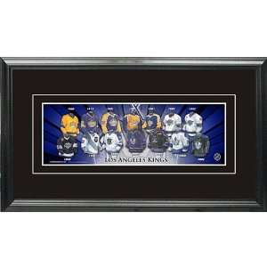 Frameworth Los Angeles Kings Framed Mini Jersey Evolution