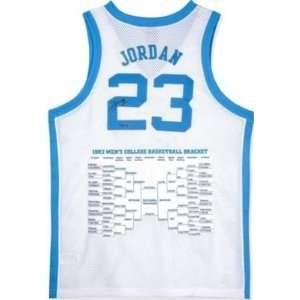 Michael Jordan Signed Uniform   Unc Embroidered Le 223 Uda