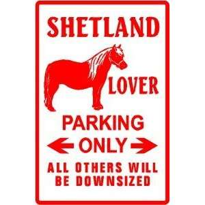 SHETLAND PONY LOVER PARKING mini horse sign