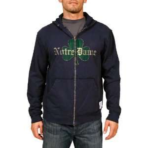 NCAA Notre Dame Fighting Irish Zip Hoodie Mens Sports