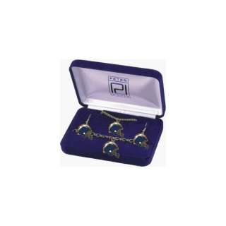 NFL San Diego Chargers Helmet Jewelry Gift Set ** Sports