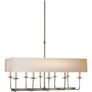 and Company SL5863AN NP2 Studio 10 Light Chandeliers in Antique Nickel
