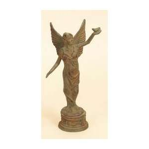 Cast Iron Angel Cherubs Statue