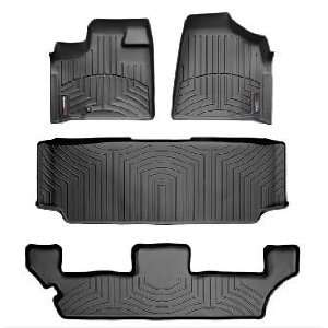 2005 2007 Chrysler Town & Country [Stown Go] Black WeatherTech Floor