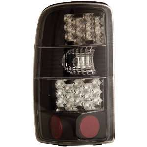 Anzo USA 311003 Chevrolet/GMC Black LED Tail Light Assembly   (Sold in