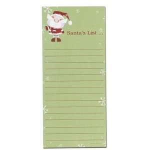 Masterpiece Studios 1041134 Merry Christmas Santa List Pad