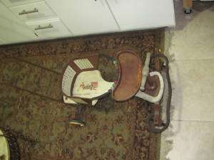 Antique Pal Baby Walker Stroller Carriage Nice Toy EXC
