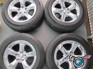 1500 Factory Chrome Clad 20 Wheels Tires Durango OEM Rims 2267