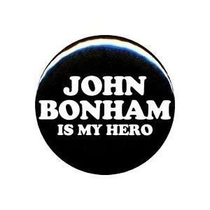 1 Led Zeppelin John Bonham Is My Hero Button/Pin