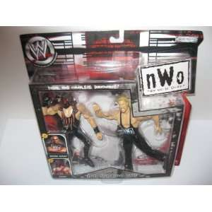 WWE NWO KANE vs KEVIN NASH BIG BAD and MAD jakks pacific