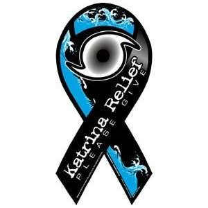 Hurricane Katrina Relief Awareness Ribbon Magnet