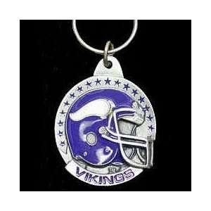 NFL Helmet Key Ring   Minnesota Vikings