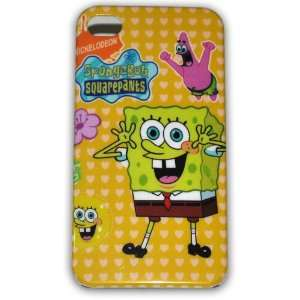 Spongebob Squarepants Hard Case for Iphone 4g/4s Ib033d + Free Screen